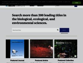 bioone.org screenshot