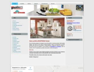 biooprema.si screenshot