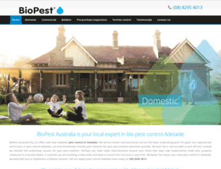 biopest.com.au screenshot
