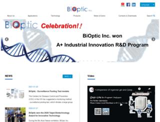 bioptic.com.tw screenshot