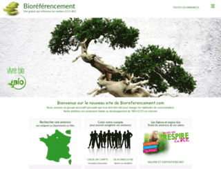 bioreferencement.com screenshot