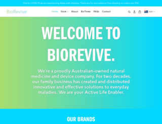 biorevive.com screenshot