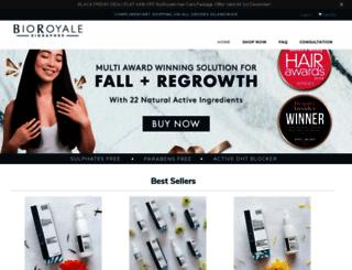 bioroyale.com screenshot