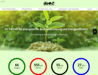 bios-bioenergy.at screenshot