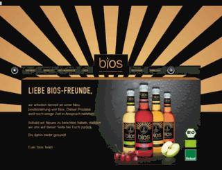 bios.de screenshot