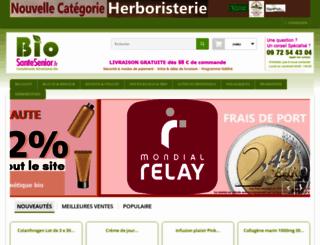 biosantesenior.fr screenshot