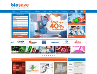 biosave.com screenshot