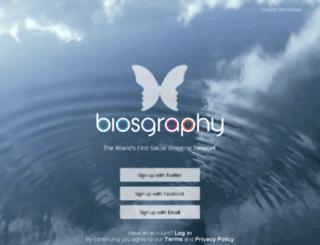biosgraphy.com screenshot