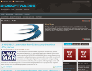 biosoftwares.com screenshot
