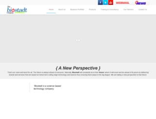 biostadtgroup.com screenshot