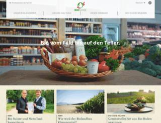 biosuisse.ch screenshot
