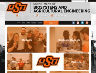 biosystems.okstate.edu screenshot