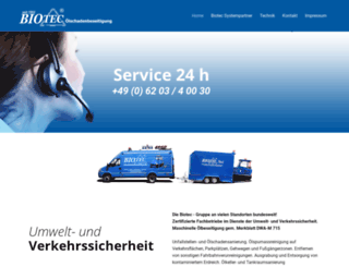 biotec-service.de screenshot