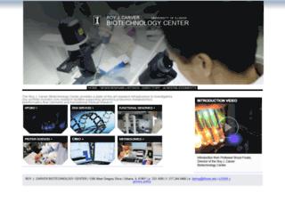 biotec.illinois.edu screenshot