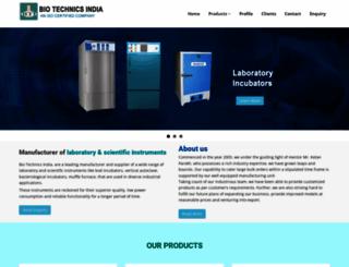 biotechlabequipments.com screenshot