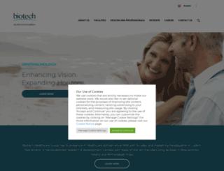 biotechvisioncare.com screenshot
