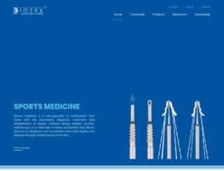 biotekortho.com screenshot