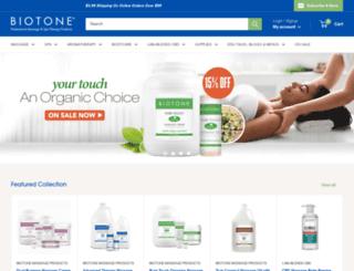 biotone.com screenshot