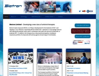 biotron.com.au screenshot