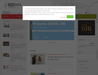 bioval.org screenshot