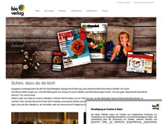 bioverlag.com screenshot