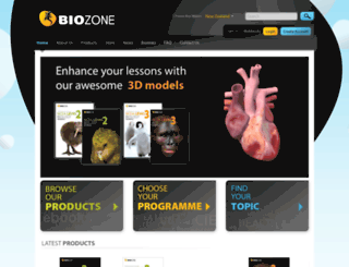 biozone.co.nz screenshot