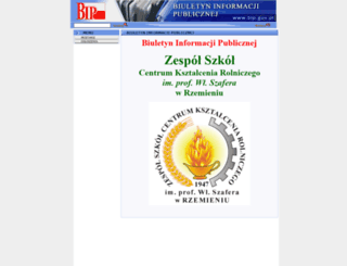 bip-rzemien.itl.pl screenshot