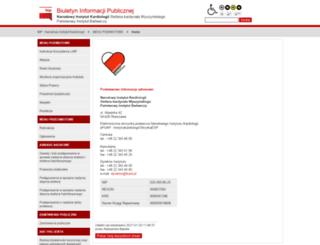 bip.ikard.pl screenshot