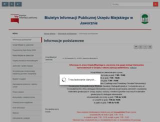 bip.jaworzno.pl screenshot