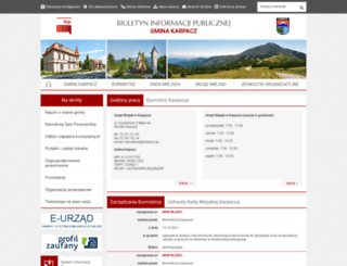 bip.karpacz.eu screenshot