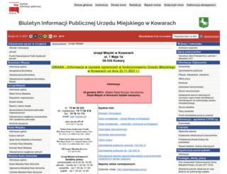 bip.kowary.pl screenshot