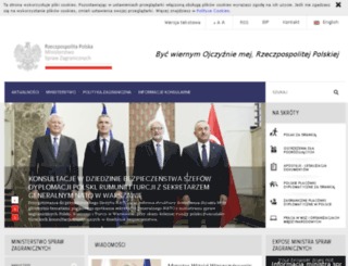 bip.msz.gov.pl screenshot