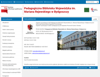 bip.pbw.bydgoszcz.pl screenshot