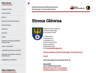 bip.tarnogorski.pl screenshot