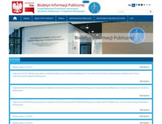 bip.urpl.gov.pl screenshot