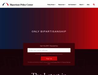 bipartisanpolicy.org screenshot