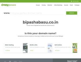 bipashabasu.co.in screenshot