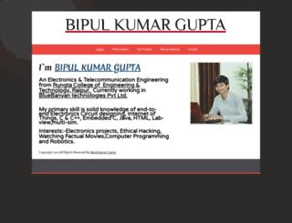 bipulgupta.webs.com screenshot