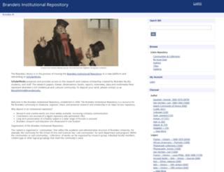 bir.brandeis.edu screenshot