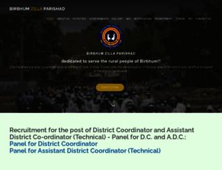 birbhumzp.org screenshot