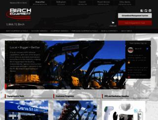 birchequipment.com screenshot