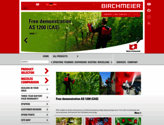 birchmeier.com screenshot