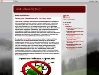 bird-control-sydney.blogspot.com.au screenshot