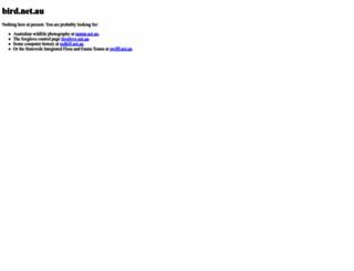 bird.net.au screenshot