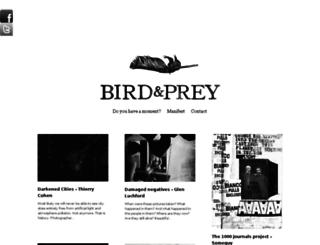 birdandprey.com screenshot