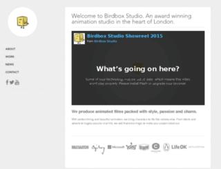 birdboxstudio.com screenshot