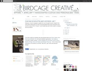birdcagecreative.blogspot.com screenshot