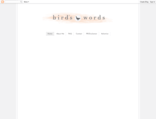 birdle.blogspot.co.uk screenshot