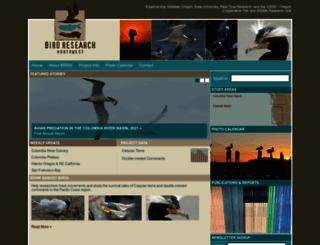 birdresearchnw.org screenshot