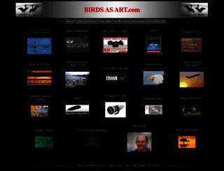 birdsasart.com screenshot